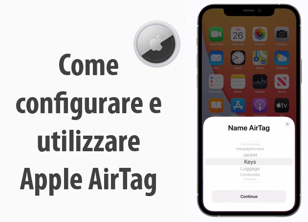 Foto Apple AirTag, come si Configura e Utilizza