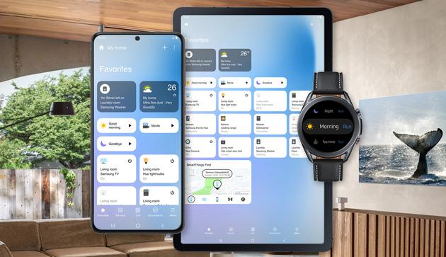 Samsung aggiorna SmartThings con nuova interfaccia su Android, iOS e Windows