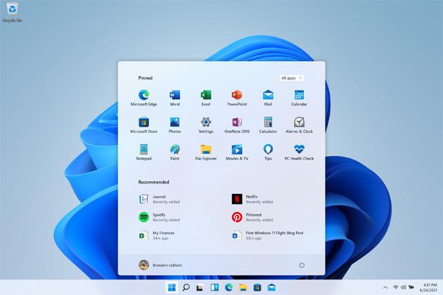 Microsoft rilascia Windows 11 Insider Preview