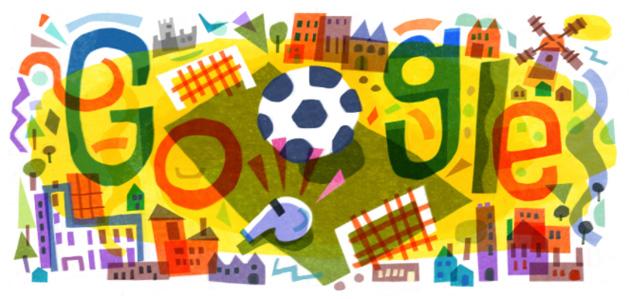 Google dedica Doodle a UEFA Euro 2020, 16a edizione del Campionato europeo di calcio