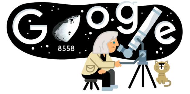 Google dedica doodle a Margherita Hack nata 99 anni fa