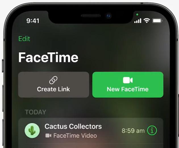 FaceTime sul Web su Android e Windows con FaceTime Link