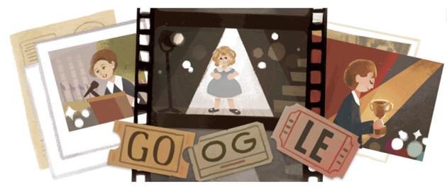 Google dedica doodle a Shirley Temple