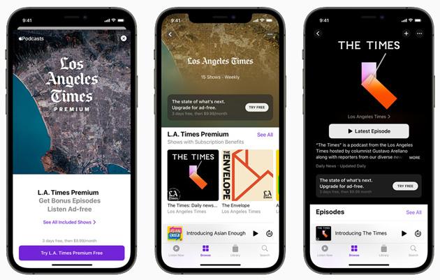 Apple Podcasts Subscriptions permette ai creatori di offrire esperienza premium agli ascoltatori tramite abbonamento