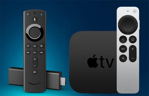 Apple TV 4k o Amazon Fire TV Stick 4k: guida su quale scegliere
