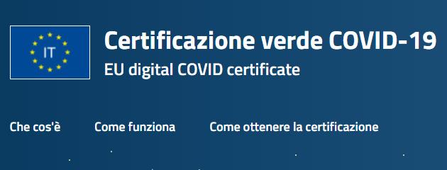Certificazione verde COVID-19: come funziona, usarla e scaricarla tramite sito del Ministero della Salute, App Immuni o IO