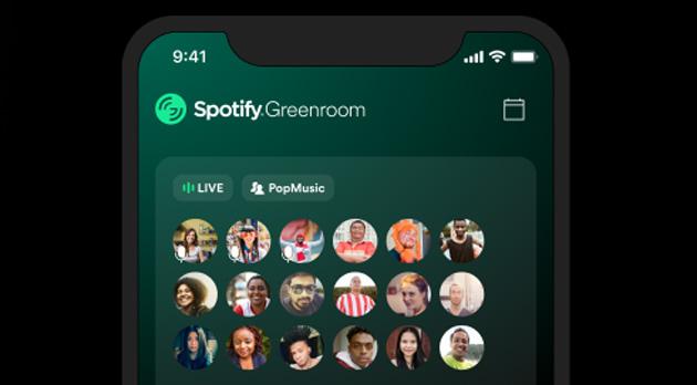 Spotify lancia Greenroom, app di chat audio dal vivo