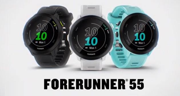 Garmin lancia Forerunner 55, sportwatch con funzioni dedicate al podismo