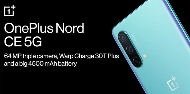 OnePlus Nord CE 5G ufficiale: Specifiche, Caratteristiche, Foto, Video e Prezzi in Italia
