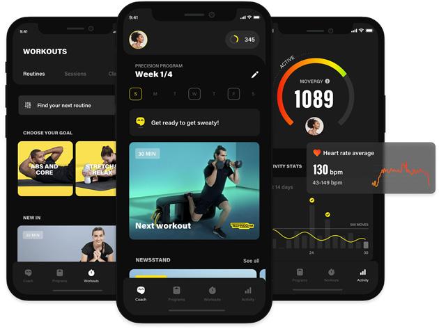 Nuova Technogym App per allenarsi ovunque grazie allo smart coach