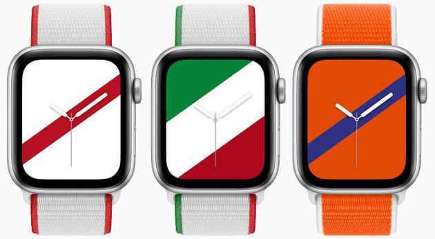 Apple Watch, nuova International Collection di cinturini in rappresentanza di 22 paesi (Italia compresa)