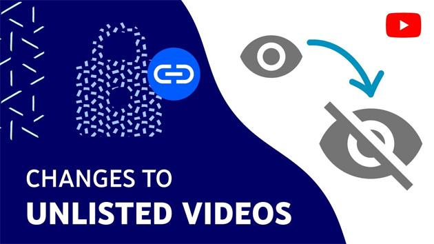YouTube rende privati i video non in elenco caricati prima del 2017, questioni di sicurezza