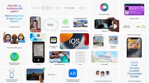 Apple iOS 15.1 disponibile: aggiunge SharePlay e supporto per le schede vaccini per il COVID-19 in Wallet