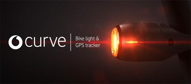 Vodafone lancia dispositivo Curve con luce e tracker per bici smart