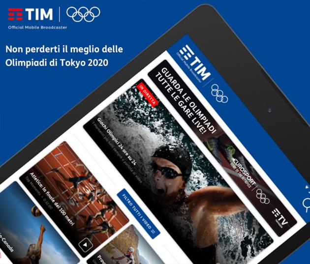 TIM lancia app Tokyo 2020 esclusiva per i suoi clienti