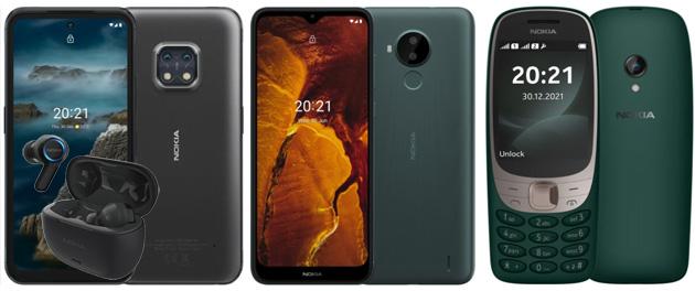 HMD annuncia i telefoni Nokia XR20, C30 e 6310 (2021), gli auricolari Clarity Earbuds Pro e partnership con Spotify e ExpressVPN