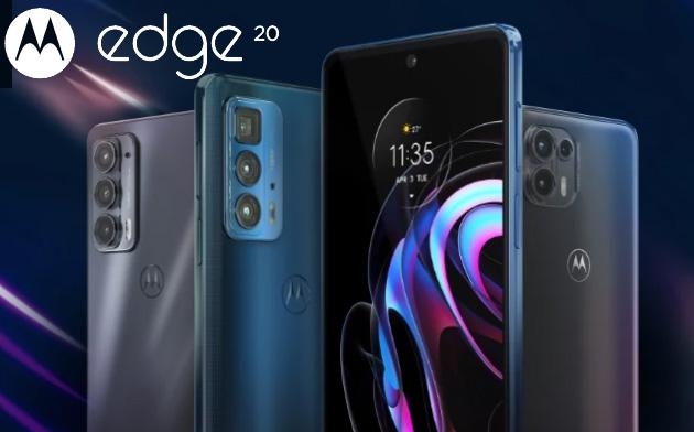 Motorola Edge 20 Series ufficiale con Edge 20, 20 Pro e 20 Lite in Italia