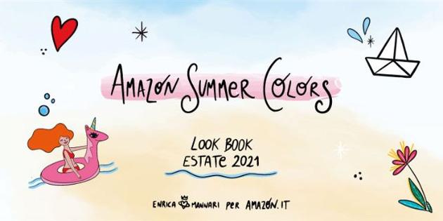 Amazon con Summer Colors accompagna gli italiani nelle loro avventure