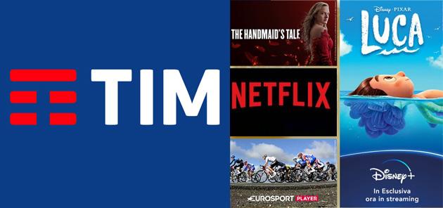 TIMVision Intrattenimento: offerta unica con Disney Plus, Netflix e TIMVision