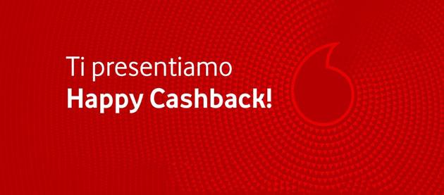 Vodafone Happy Cashback fa accumulare crediti convertibili in ricarica telefonica