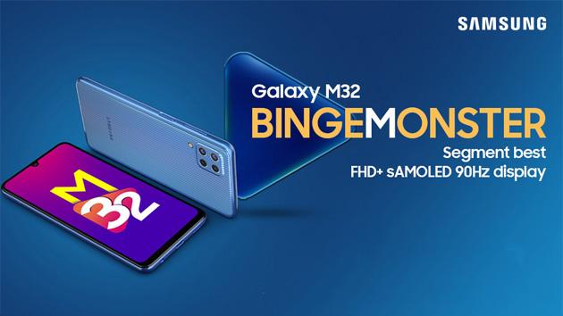 Samsung Galaxy M32 con batteria 6000mAh, display Super Amoled 6,4 e camera da 64MP in Italia