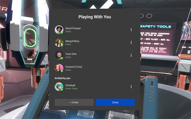 Oculus v31 semplifica il gioco multiplayer e aggiunge nuove impostazioni di sicurezza