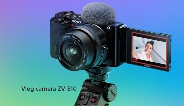 Sony ZV-E10, vlog camera APS-C con obiettivo intercambiabile per vlogger e ideatori di contenuti