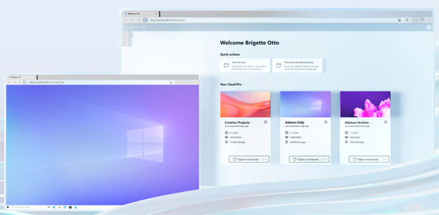 Microsoft con Windows 365 facilita il lavoro ibrido, porta la completa esperienza del PC su cloud