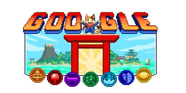 Google e Youtube per Tokyo 2020 a partire dai Giochi Doodle dell'Isola dei Campioni