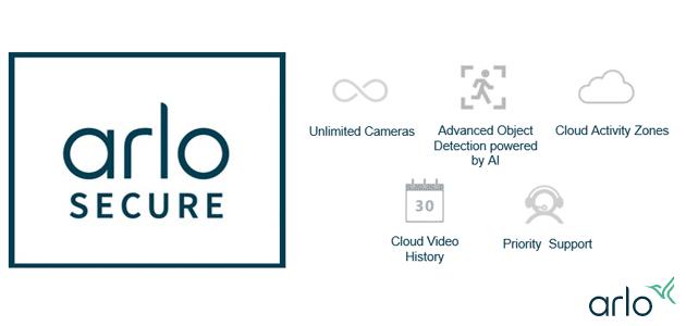 Arlo lancia nuovi abbonamenti Arlo Secure con Arlo Smart, videocamere illimitate o singole e risoluzione 2k o 4k