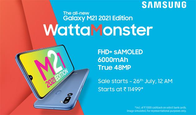 Samsung lancia Galaxy M21 2021 Edition per la Gen Z e millenials