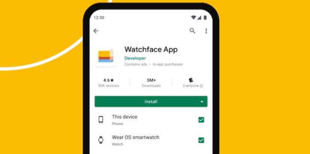 Google Play su Wear OS si aggiorna e ora anche consente di installare app dal telefono sullo smartwatch da remoto