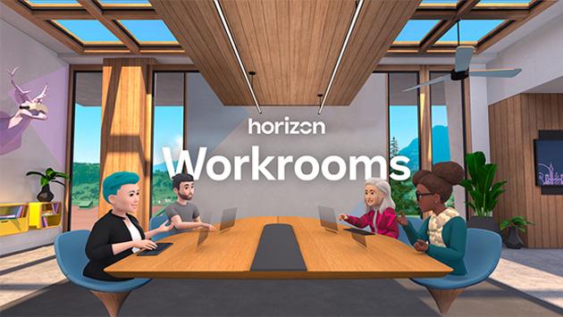 Facebook lancia Horizon Workrooms, app di Collaborazione Virtuale