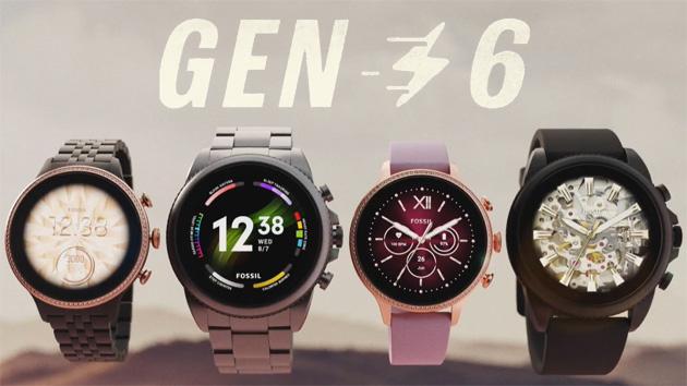 Fossil annuncia la Gen6 di smartwatch con Wear OS, sensore SpO2, speaker e microfono per Google Assistant