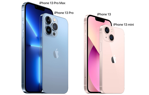 Apple iPhone 13 Series ufficiale con quattro modelli, dal Mini al Pro Max, tutti con 5G