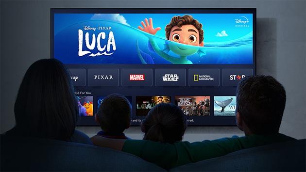 Disney Plus sui TV Panasonic commercializzati dal 2017