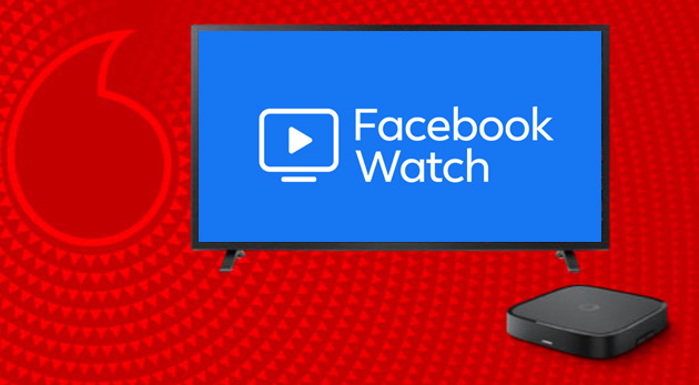 Facebook Watch arriva su Vodafone TV, anche in Italia