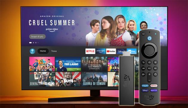 Amazon lancia Fire TV Stick 4K Max con WiFi 6 in Italia e diventa produttore di TV negli USA