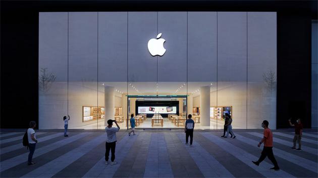 Apple Changsha apre in Cina, primo Apple Store con facciata trattata con tecnica innovativa