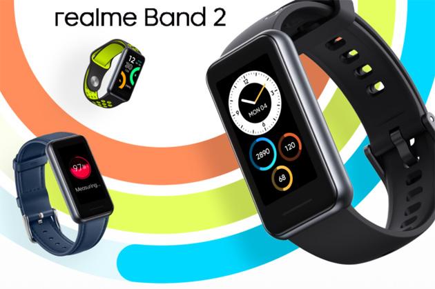 Realme Band 2 con display piu' grande, spO2 e maggiore autonomia ufficiale