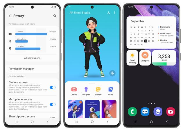 Samsung testa One UI 4 con Android 12 sulla Galaxy S21 Series