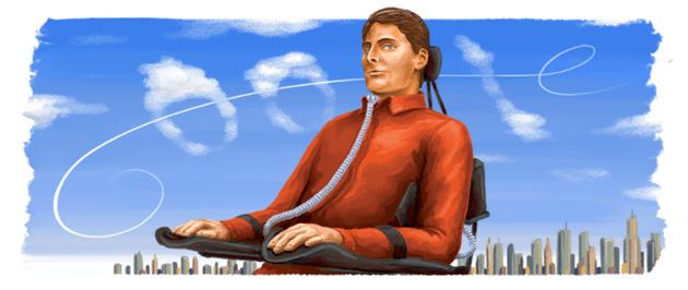Google dedica doodle a Christopher Reeve nato 69 anni fa