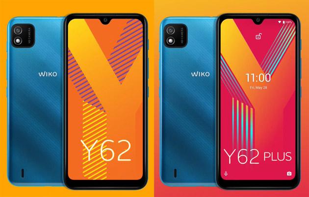 Wiko Y62 e Y62 Plus con Android 11 GO Edition, 4G, ampi display e batteria in Italia (aggiornato)