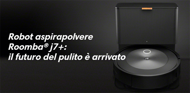 iRobot lancia Roomba J7 Plus con iRobot Genius Home Intelligence 3.0