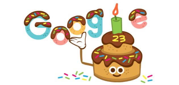 Google compie 23 anni, festeggia con un doodle speciale e sconti su Google Store online