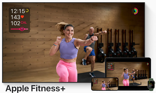 Fitness Plus in arrivo in Italia con Meditazione guidata, Pilates, Allenamenti di gruppo con SharePlay e per la stagione sciistica