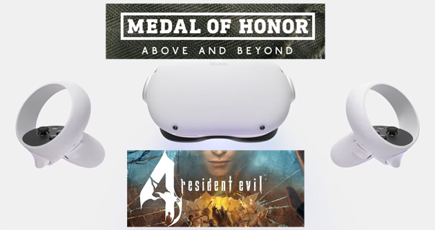 Medal of Honor: Above and Beyond e Resident Evil 4 VR in arrivo su Oculus Quest 2
