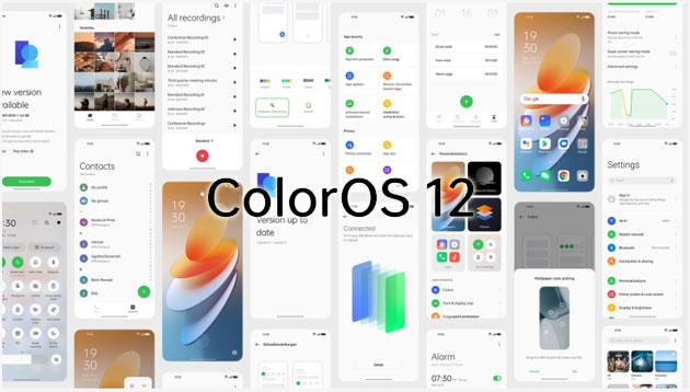 Oppo presenta ColorOS 12 basato su Android 12