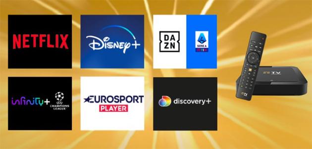 TIMvision rilancia offerta GOLD con Disney Plus, Netflix, Dazn e 12 mesi di Infinity Plus