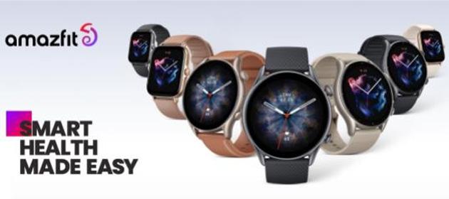 Amazfit presenta Rebranding del marchio e gli smartwatch GTR 3 Pro, GTR 3 e GTS 3